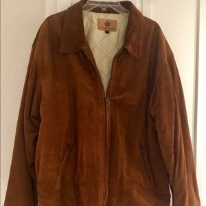 The Territory Ahead Roughed Out Suede Jacket XL